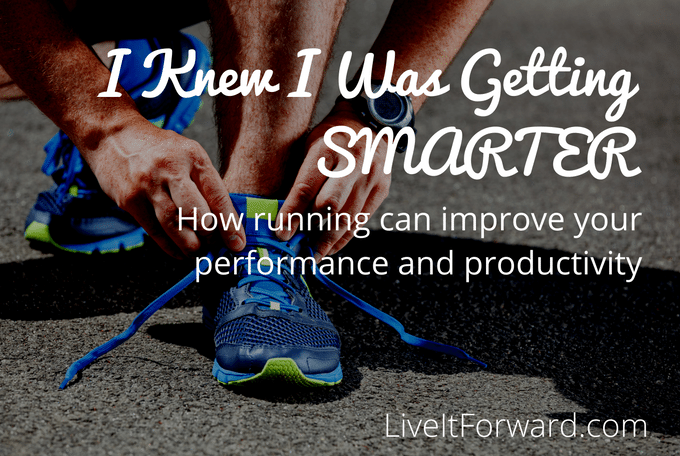 How running improves your performance and productivity