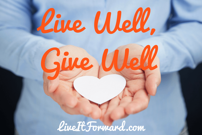 Live Well, Give Well