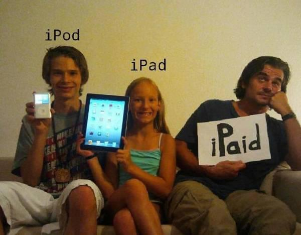 All Dads Can Relate To iPaid