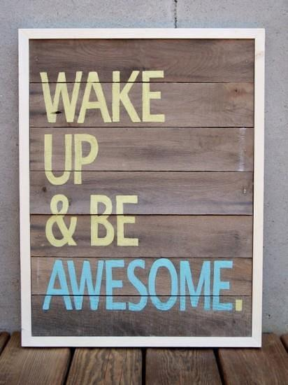 Key To Success Quote U2013 Wake Up And Be Awesome! November 7 ...