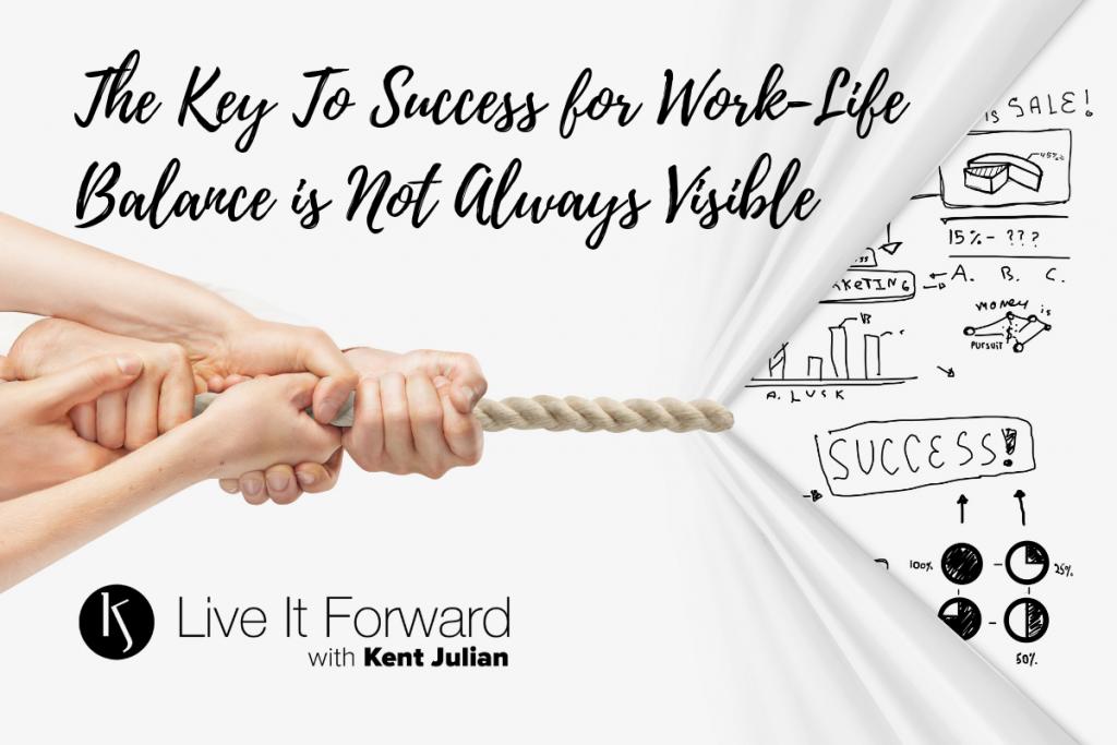 key to success - work life balance