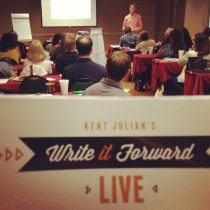 How To Publish A Book - Write It Forward LIVE Pic 3