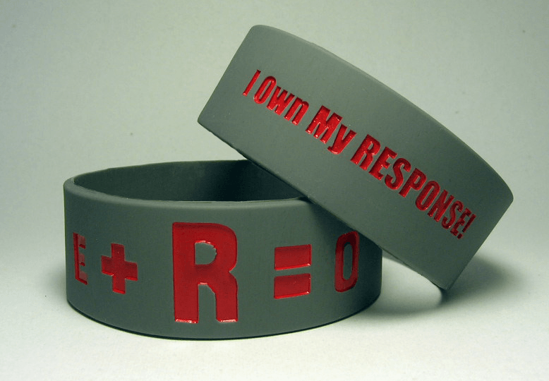 OSU Football Wristbands / E+R=O Wristbands