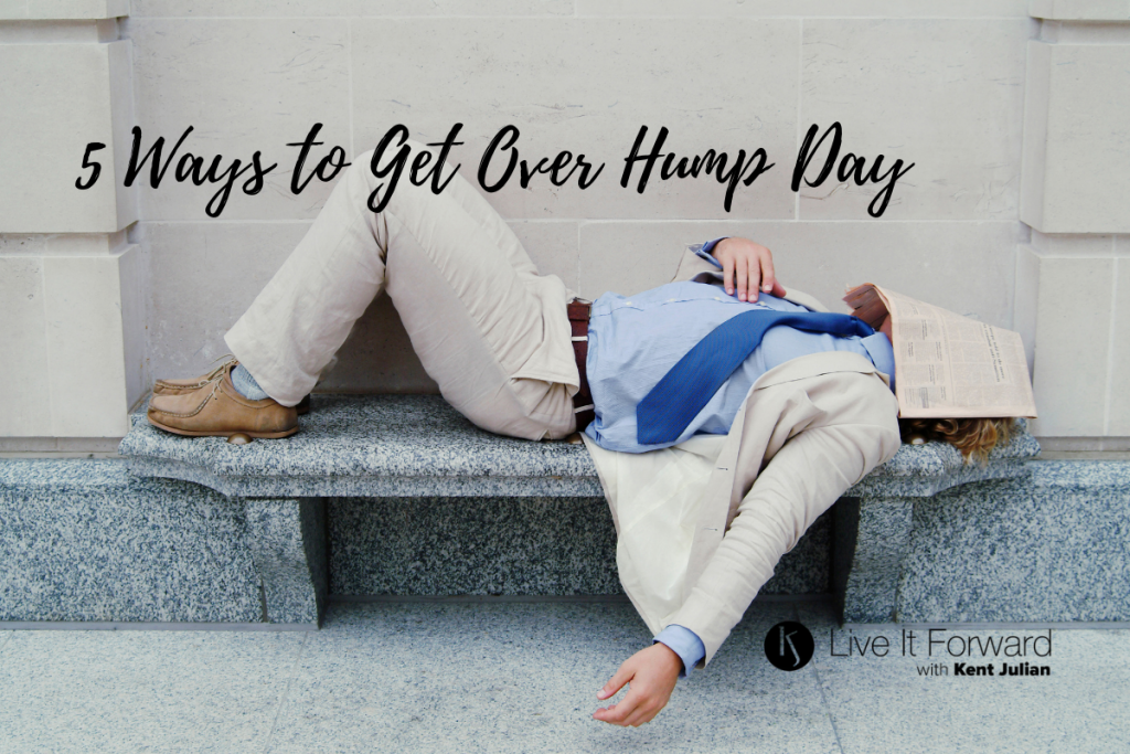 5 ways to get over hump day