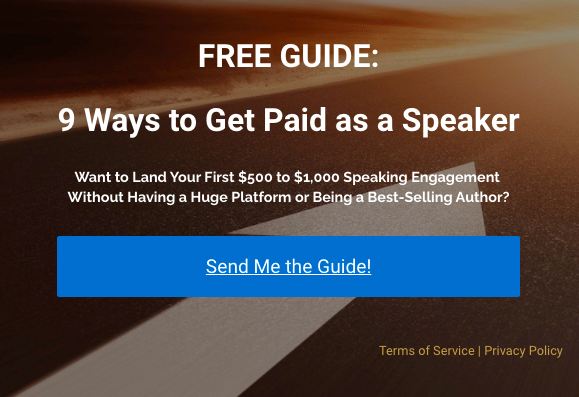 9 Ways to Get Paid as a Speaker