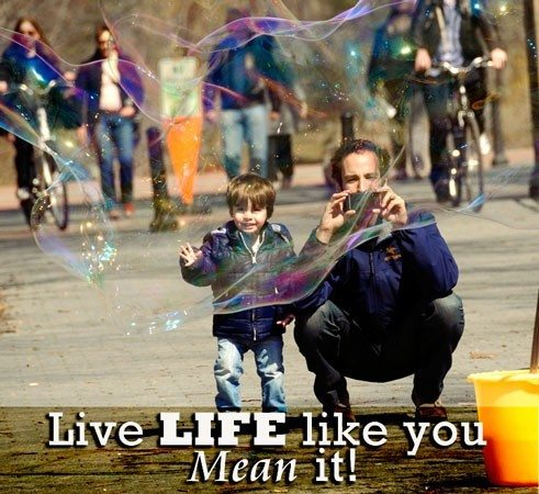 Success Mantra: Live Life Like You Mean It
