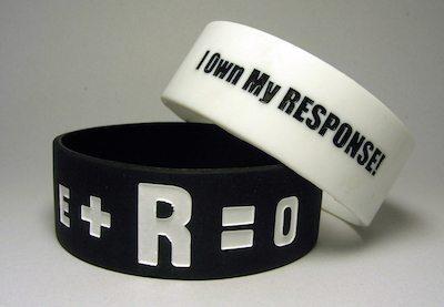 E+R=O Wristbands