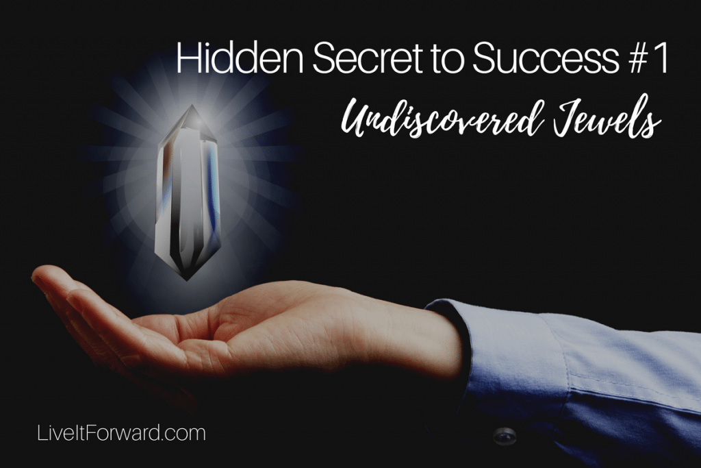 Hidden Secret to Success #1 - Undiscovered Jewels