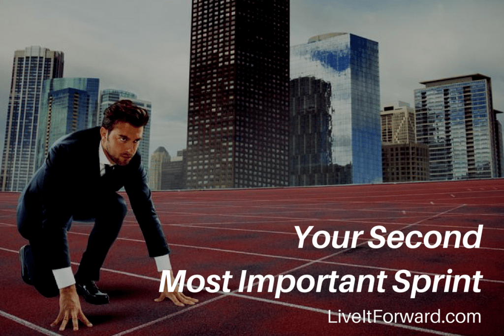 Hidden Secret to Success #3 - Your Second Most Important Sprint