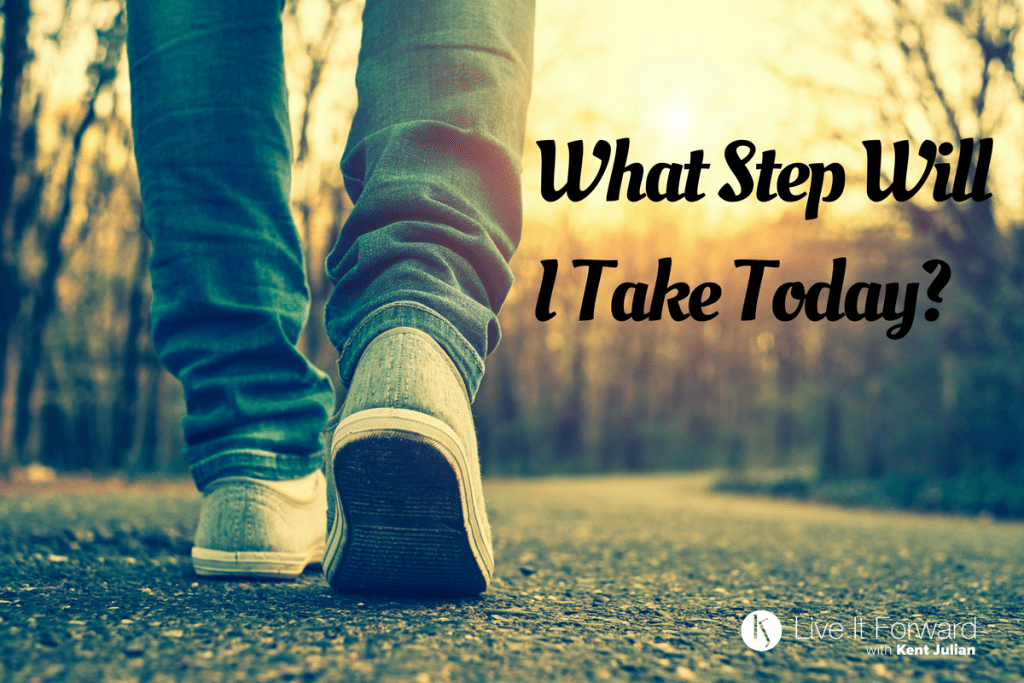 LIF 108 - Power Questions: What Step Will I Take Today?