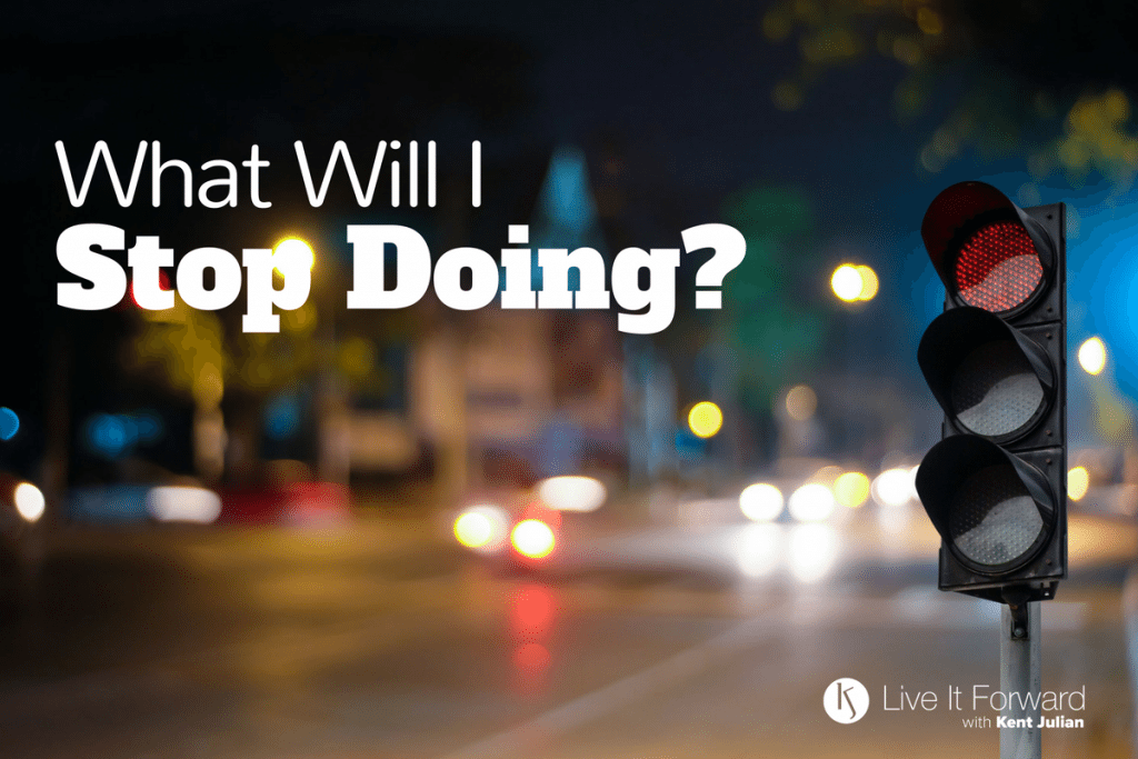 LIF 109 - Power Questions: What Will I Stop Doing?