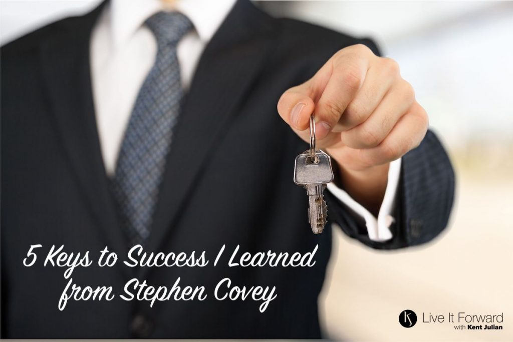 keys to success - stephen covey