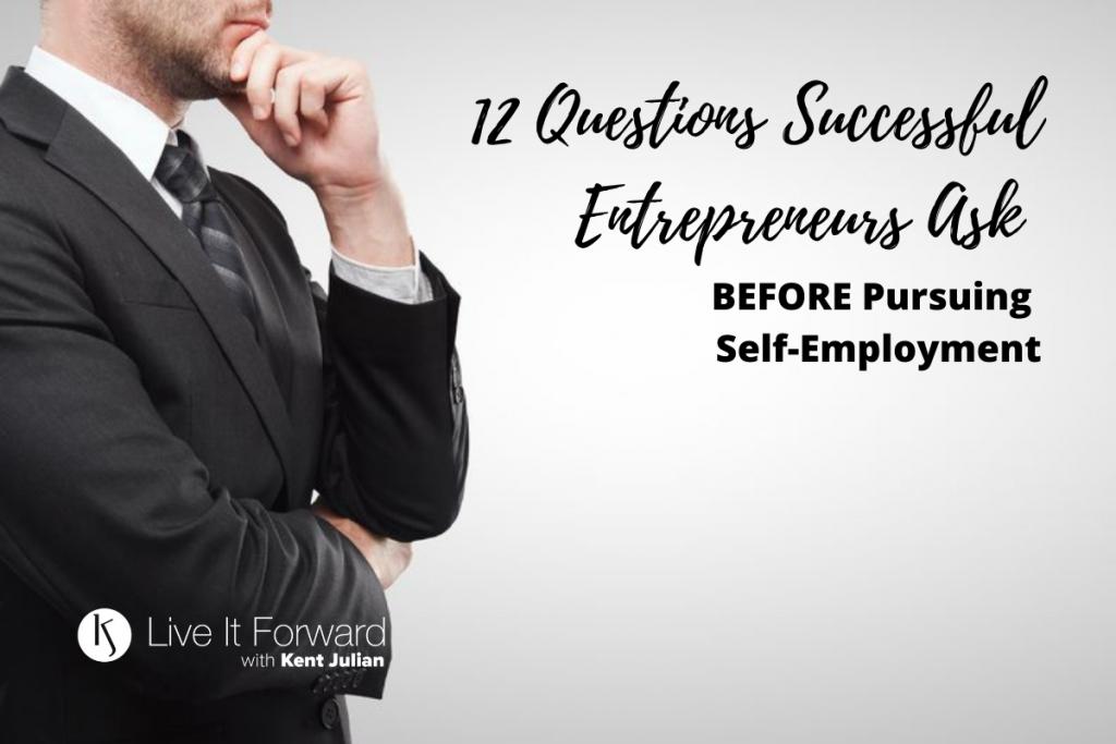 12 Questions Successful Entrepreneurs Ask
