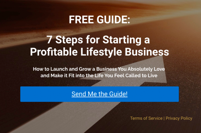 7 Steps for Starting a Profitable Lifestyle Business